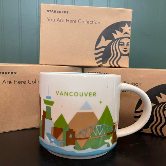"""STARBUCKS """"You are here collection"""" VANCOUVER"""